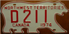 Northwest Territories Dealer License Plate
