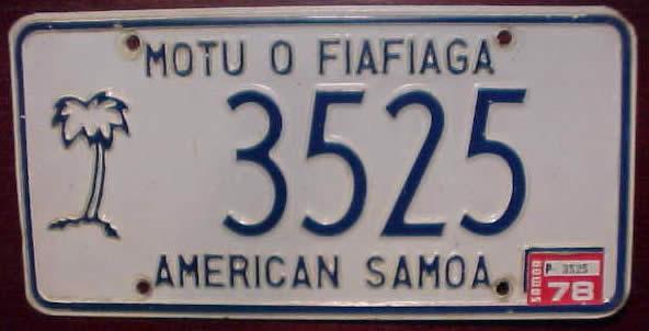 El juego de las imagenes-http://www.platehut.com/images/plates_international/AmericanSamoa_3525.jpg