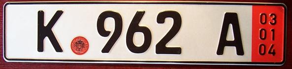 International License Plates The Plate Hut