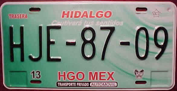 how to get mexican license plates