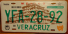 Veracruz Tajin Pyramid License Plate