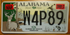 Alabama Wildlife License Plate