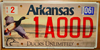 Arkansas Ducks Unlimited License Plate