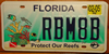Protect Our Reefs Florida License Plate