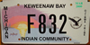 Michigan Keweenaw Bay Ojibwa Tribe Indian License Plate