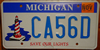 Michigan Lighthouse License Plate