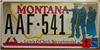 Montana Lewis and Clark License Plate