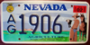 Nevada Agriculture License Plate