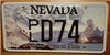 Preserve Pyramid Lake Nevada License Plate