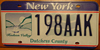 Dutchess County New York License Plate