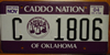 Oklahoma Caddo Nation IndianTribe License Plate
