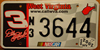 West Virginia Nascar Dale Earnhardt  License Plate